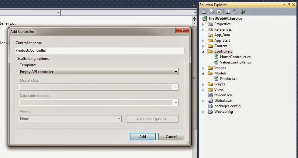 web api tutorial step by step pdf
