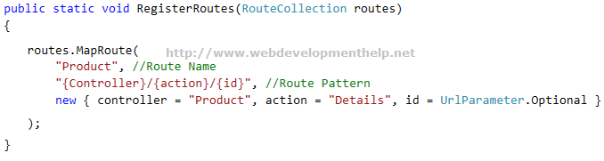 Register Route in ASP.NET MVC