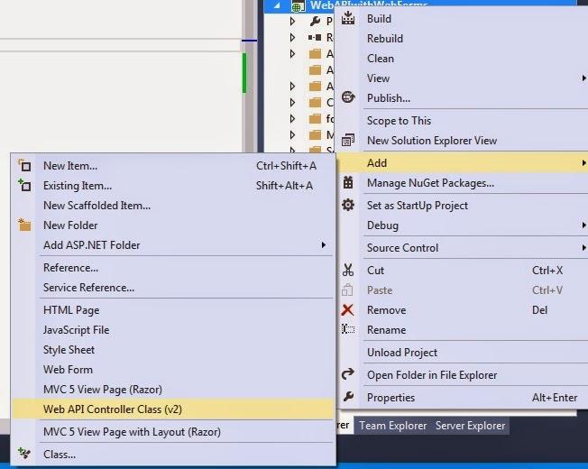 ASP.NET Web API Controller