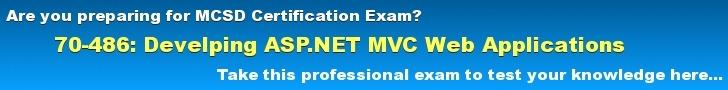 70-486 Exam Preparation