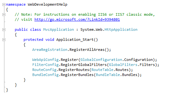 ASP.NET MVC Global.asax