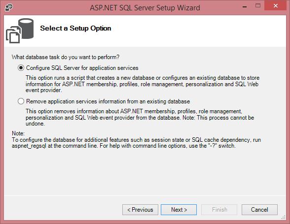 ASP.NET Membership