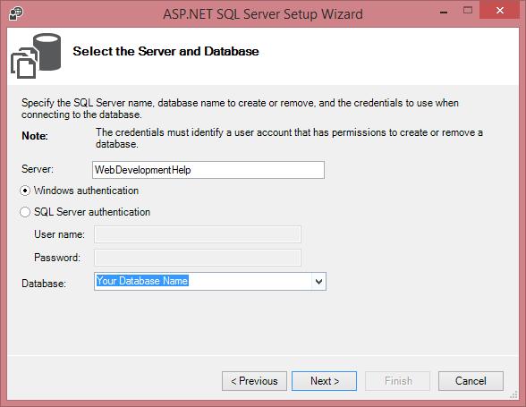 ASP.NET MVC Membership