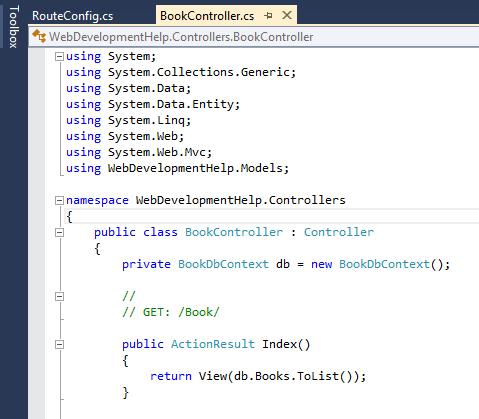 Controller in ASP.NET MVC