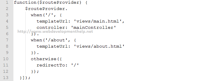 Bind Controller to View
