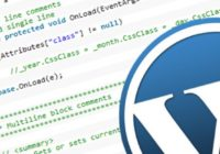 HTML text in Wordpress