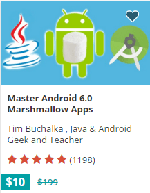 android 6 Mobile Application Course