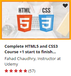 Complete HTML5 and CSS3 Course