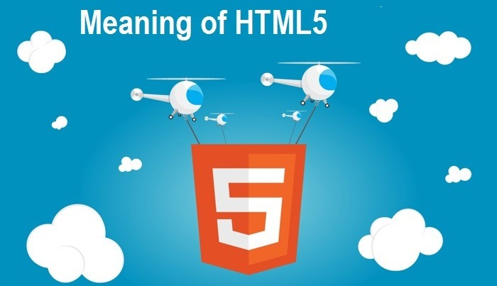 Meaning of HTML5