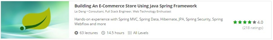 Java E-Commerce Store