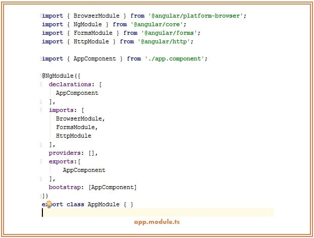 Angular2 app-module