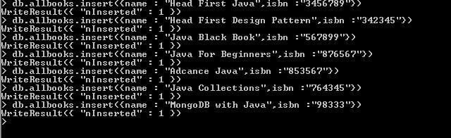 Add Books to MongoDB