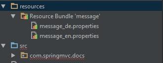 localization in Spring MVC Framework