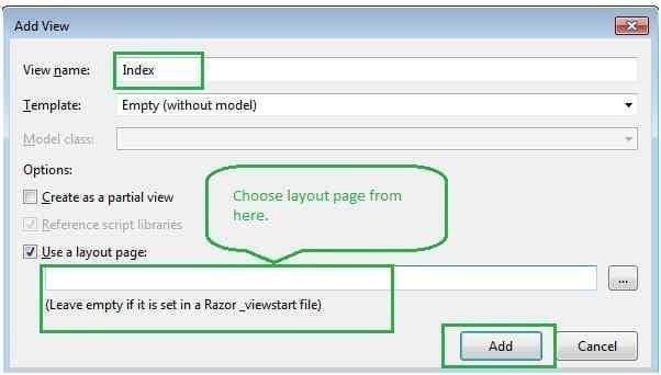 ASP.NET Core View
