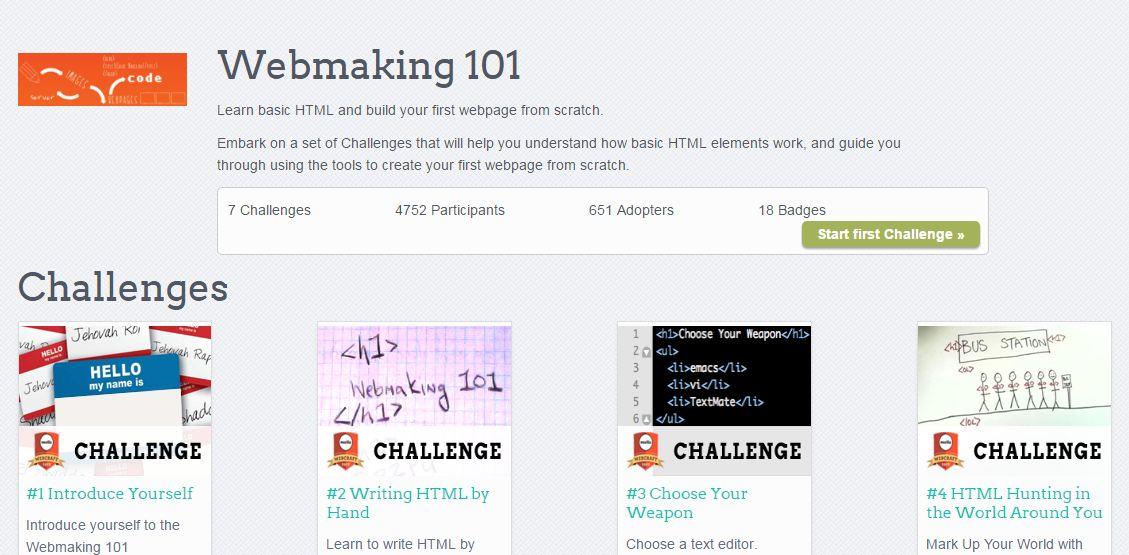 Webmaking 101
