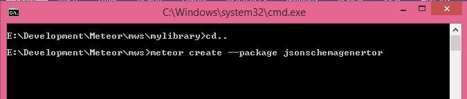 Create Package in Meteor