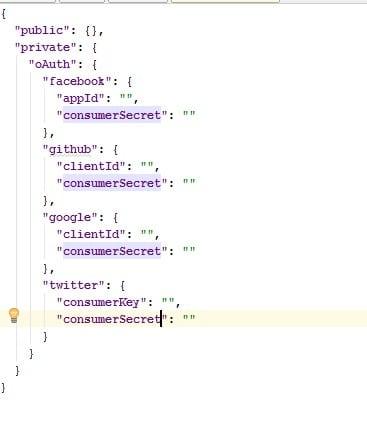Create Settings JSON