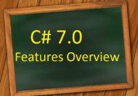 CSharp-New Features