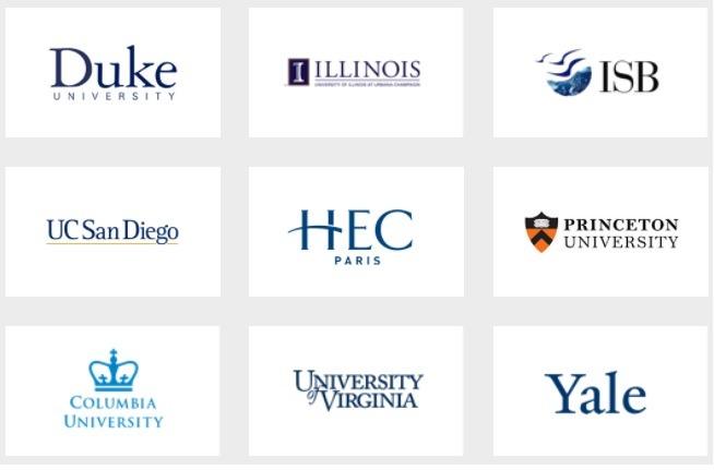 Top Universities Online Courses