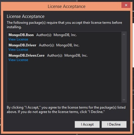 MongoDB License Agreement