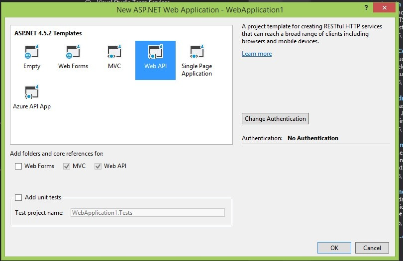 ASP.NET Core Web API Application