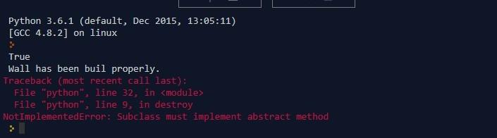 Python Structure Output