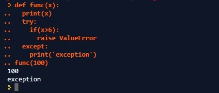 Throw Exception Interview Question