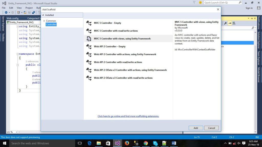 ASP.NET MVC Controller