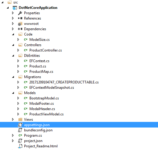 ASP.NET Core Solution