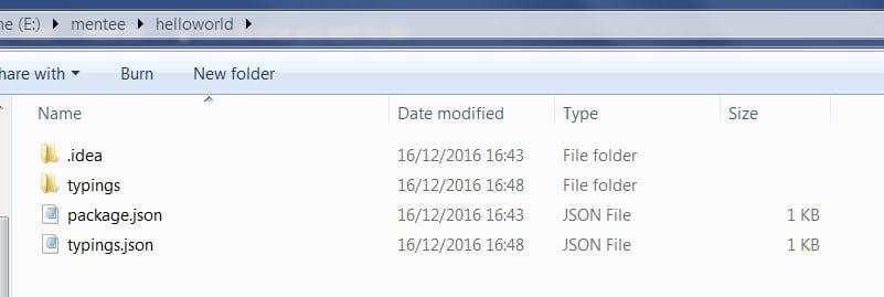 Typings file folder in Angularjs 2