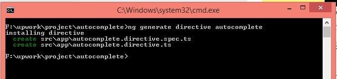 Generate Directive in Angularjs 2