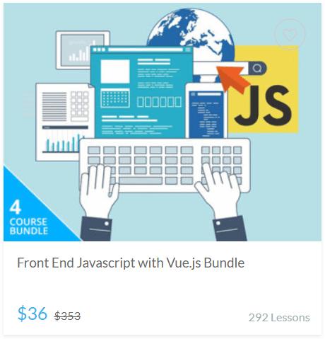 Front End Javascript with Vue.js Bundle