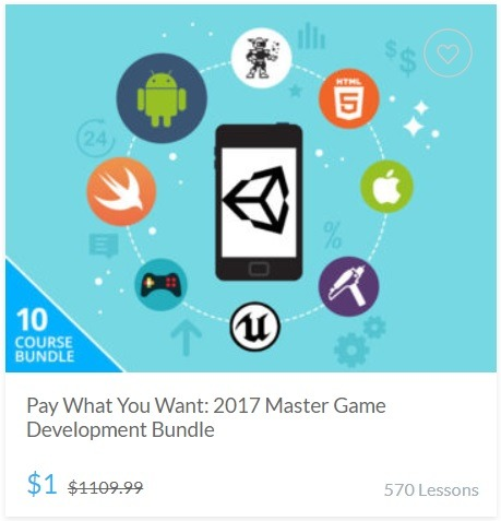 Pay What You Want - 2017 Master Game Development Bundle