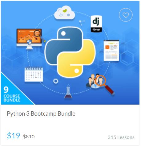 Python 3 Bootcamp Bundle