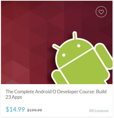The Complete Android O Developer Course - Build 23 Apps
