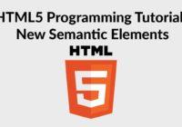 HTML5 Semantic Elements
