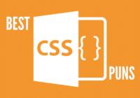 Best CSS Puns